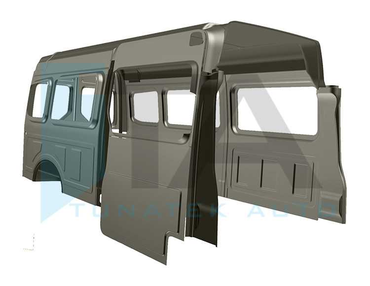 Crafter / MAN TGE L4H3 14,4m³ Long WB With Sliding Door