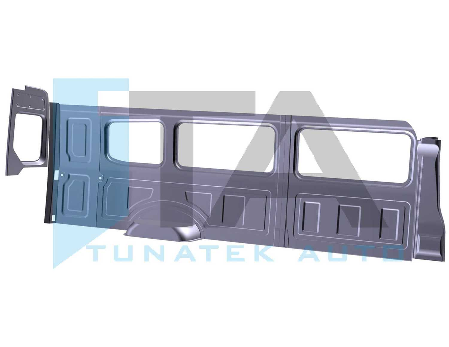 Crafter / MAN TGE L5H3 16,4m³ Extra Long WB Without Sliding Door